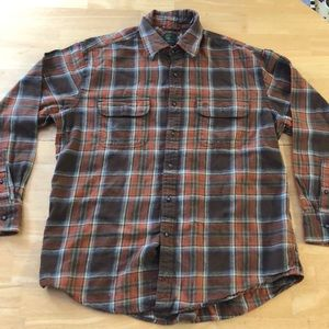 Timberland Flannel 100% Cotton Men's Large